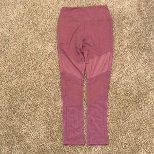 High waist Dusty Rose colored leggings